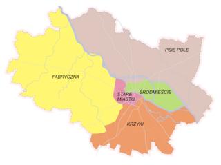City borough in Lower Silesian, Poland