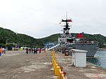 Wu Chang Shipped in No.9 Pier of Zhongzheng Naval Base Rear View 20130504b.jpg