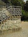 Wuppertal, Nützenbergpark, Weyerbuschturm, Aufgang zur Eingangsplattform.jpg
