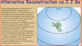 Wyoming and Superior provinces reconstruction ca. 2.2 Ga (Harlan et al 2003).PNG