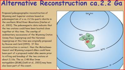 To pokazuje możliwą konfigurację dla początkowego przyłączenia prowincji Wyoming i Superior.