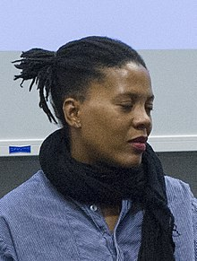 Xaviera Simmons at Performing History at Columbia GSAPP (cropped).jpg