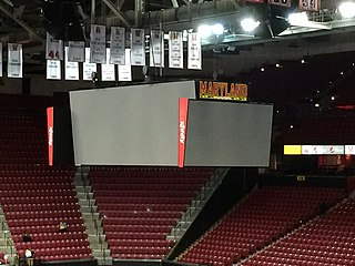 Xfinity Center (College Park, Maryland) basketball arena at the University of Maryland