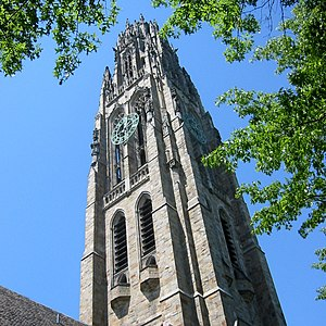 John Hersey - Harkness Tower, Yale University