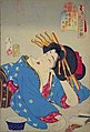 Yoshitoshi - Looking relaxed - the appearance of a Kyoto geisha of the Kansei era.jpg