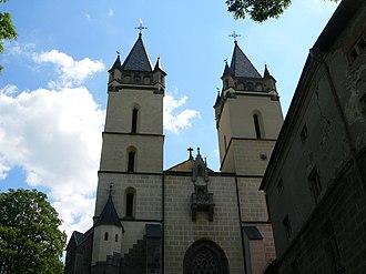 Hronský Beňadik - Hronský Beňadik Abbey