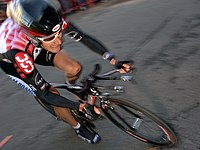 David Zabriskie in the prologue of the 2006 Tour of California