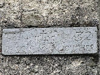 Zakojca - Image: Zakojca Slovenia hayrack plaque