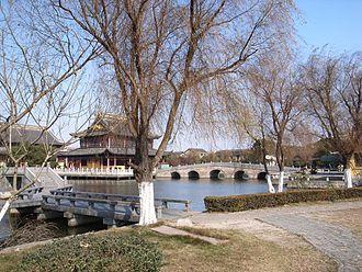 Zhouzhuang - The Chengxu Temple in Zhouzhuang