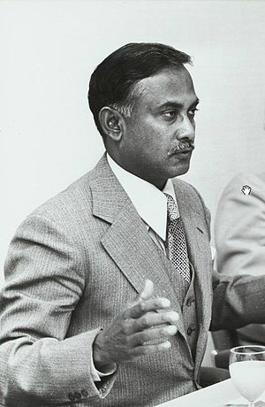 Ziaur Rahman - Ziaur Rahman delivering a speech at a public conference before 1979