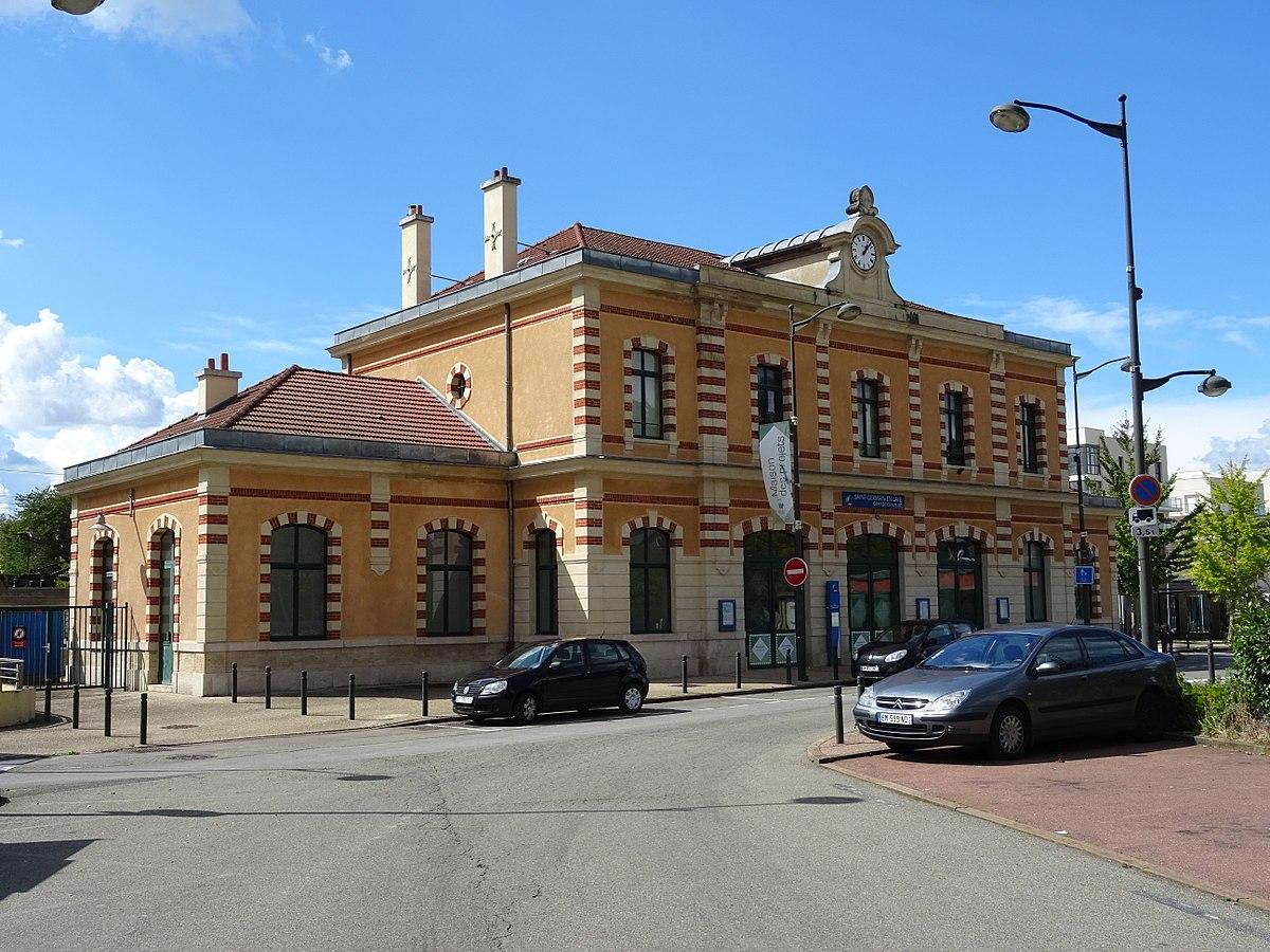 Gare de saint germain en laye grande ceinture wikip dia for Garage de la gare bretigny
