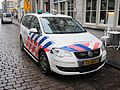 Zuid Holland Zuid police car VW Touran.JPG