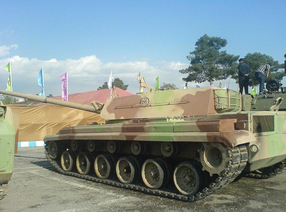 Zulfiqar Tank - Side View