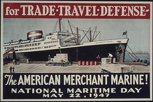 United States National Maritime Day - National Maritime Day, May 22, 1947