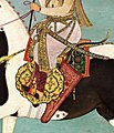 """Shah Jahan on Horseback"", Folio from the Shah Jahan Album MET CAT 40DETr1 89C.jpg"