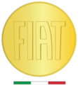 """ 14 - ITALY - Moneta Fiat - gold coin - Italy flag (made in Italy logo).png"