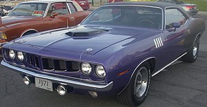 Plymouth Barracuda (E-body)