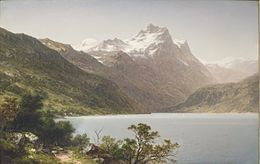 'Alpine Lake' by John William Casilear, 1860, High Museum.JPG