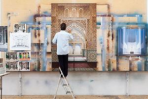 Ben Johnson (artist) - 'Approaching the Mirador', Ben Johnson, 2013, Acrylic on Canvas, 225 x 150 cm