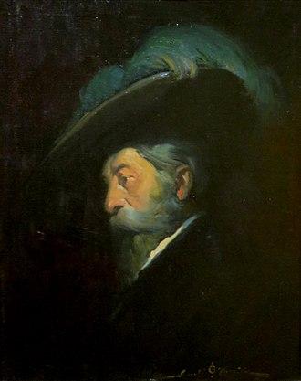 Juan Bautista de Anza - Portrait by Gerald Cassidy.