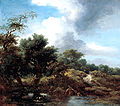 'The Pond', oil on canvas painting by Jean-Honoré Fragonard, c. 1761-65, Kimbell Art Museum.jpg