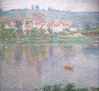 'Vétheuil' by Claude Monet, 1901, Pushkin Museum.JPG