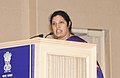 (Smt.) D. Purandeswari addressing at the National Education Day, 2010 function to commemorate the birth anniversary of Maulana Abul Kalam Azad, in New Delhi on November 11, 2010.jpg