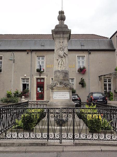 Écrouves (Meurthe-et-M.) monument aux morts