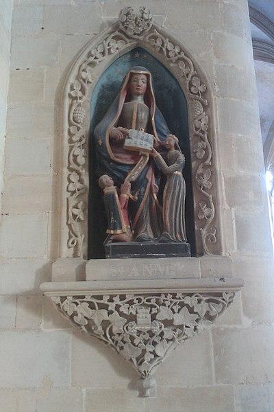 Église Saint-Pierre de Coutances 16e siècle