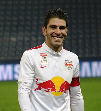 Jonathan Soriano - Soriano with Red Bull Salzburg in 2015