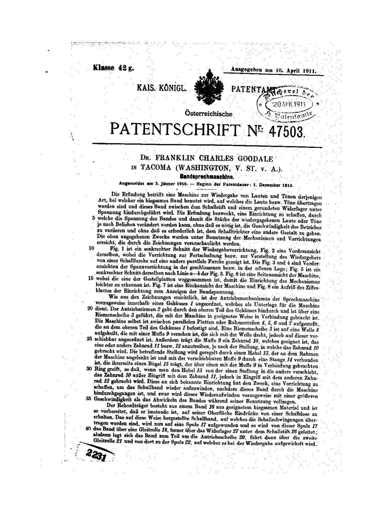 patentschrift