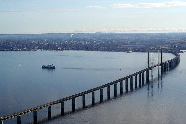 Число людей, мигрирующих между Данией и Швецией сокращается