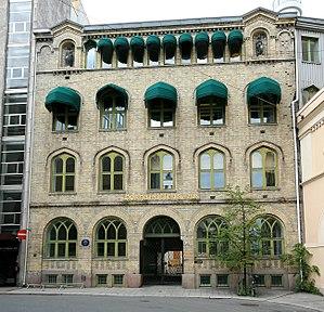 Norwegian Booksellers Association - Their headquarters in Øvre Vollgate, Oslo.