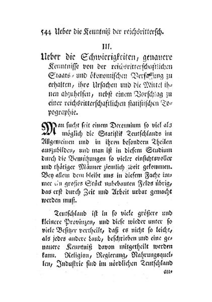 File:Über die Schwierigkeiten, genauere Kenntnisse von der reichsritterschaftlichen Staats- und ökonomischen Verfassung zu erhalten.pdf