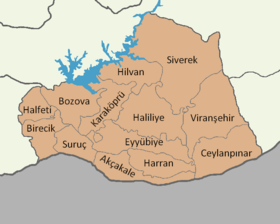 Şanlıurfa location districts.png