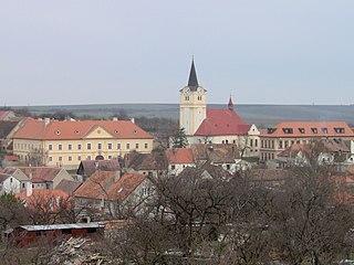 Šatov Městys in South Moravian, Czech Republic