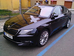 Škoda Superb (B8)