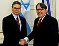 Συνάντηση ΥΦΥΠΕΞ Δ. Δόλλη με τον ΥΦΥΠΕΞ του Ισραήλ D. Ayalon (22.11.2011).jpg