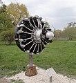Авиадвигатель АШ-62 в Государственном музее авиации (Киев).jpg