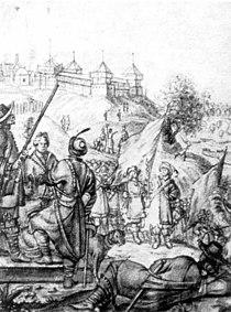 Київський замок на рисунку Вестерфельда (1651) aeed9b54409d5