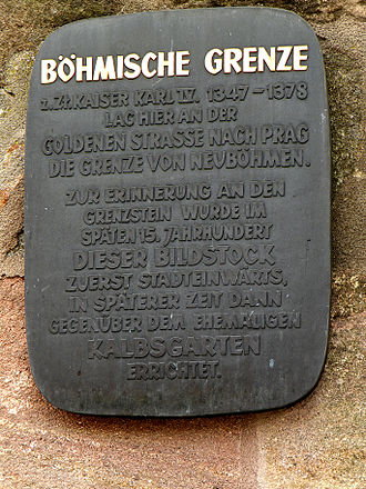 Bohemian Palatinate - Image: Граница с Богемией