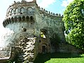 Кругла вежа із замкового подвір'я.JPG