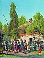 Маковский Воскресный вечер в малороссийской деревне 1879.jpg
