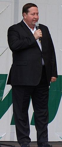Михальчук Илья Филиппович. День работников леса Коряжма 2009.JPG