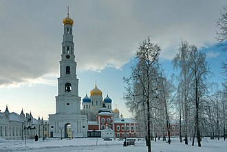 Ugresha Monastery - Monastery of St. Nicholas has one of the tallest bell towers in the Orthodox world