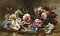 Паоло Порпора Квіти поряд зі скляною вазою.jpg