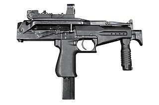 SR-2 Veresk submachine gun