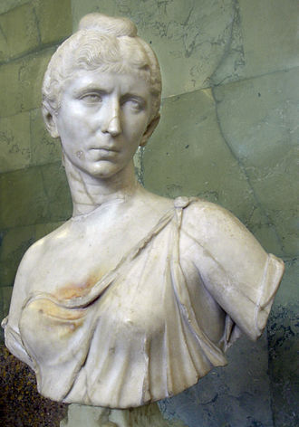 Gallienus - Bust of Cornelia Salonina