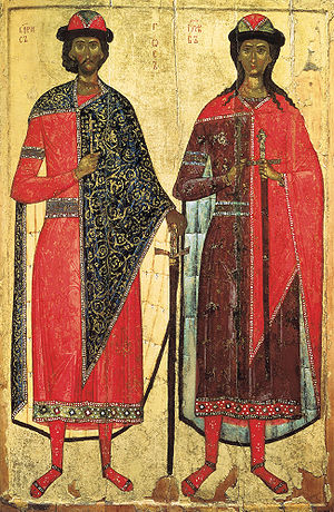 Nikolay Likhachyov - Likhachyov's collection included the oldest icon of Sts. Boris and Gleb