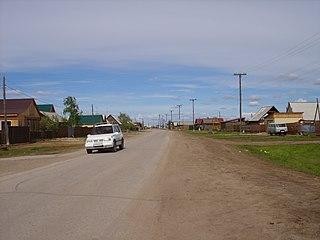 Khatassy Selo in Sakha Republic, Russia